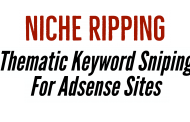 Thematic Keyword Sniping (Niche Ripping Adsense Version)