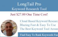 Get LongTail Pro For Just $27 One Time Cost
