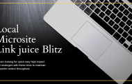 Local Microsite Link juice Blitz