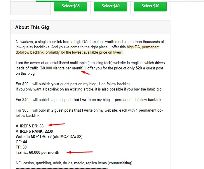 SEO Experiments From Recommended Fiverr Gigs - Part 04 4 SEO Experiments From Recommended Fiverr Gigs - Part 04