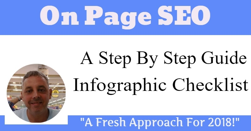 On Page SEO Checklist For 2018 (Infographic)