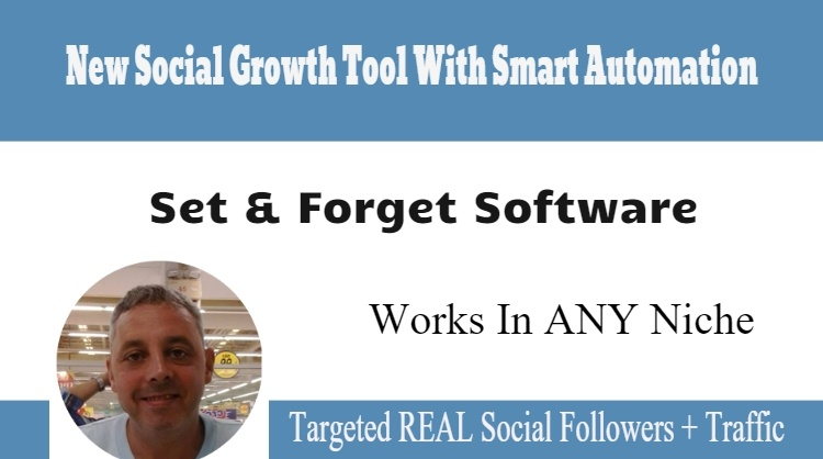 New Set & Forget Software Adds REAL Social Followers