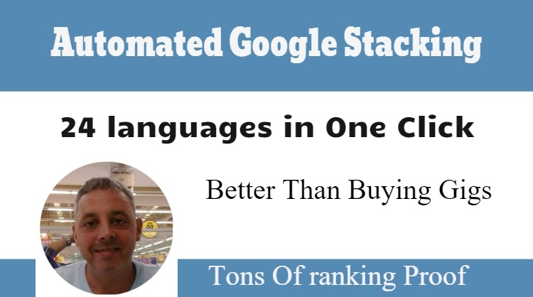 Automated Google Stacking (Use Google to Rank in Google)