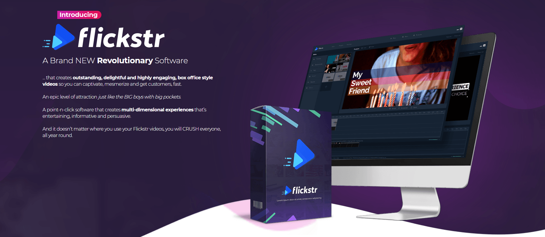Create Amazing Video Agency Quality Content That Converts With Flickstr 2
