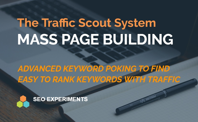 The Traffic Scout System: Mass Page Building Wikipedia Style