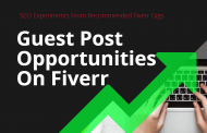 SEO Experiments From Recommended Fiverr Gigs - Part 04