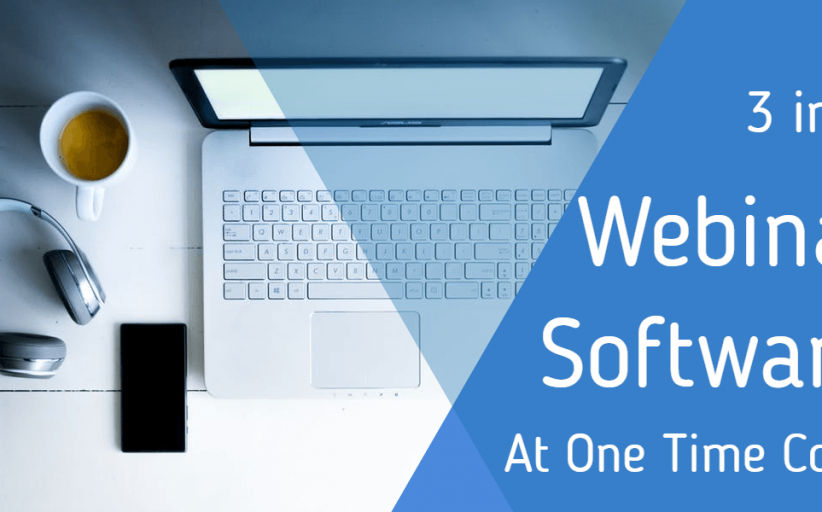 New 3 in 1 Webinar Software At One Time Cost