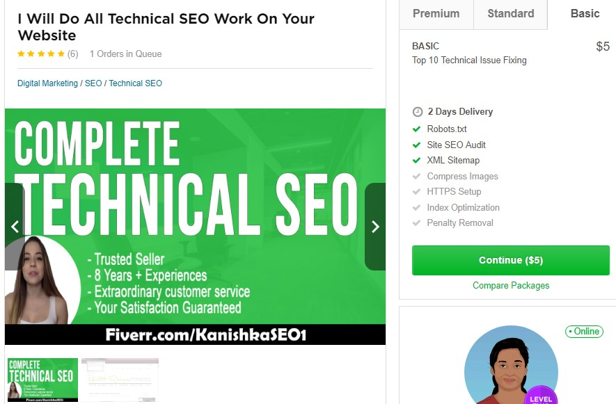 SEO Experiments From Recommended Fiverr Gigs - Part 05 3