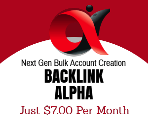 BACKLINK ALPHA Banner