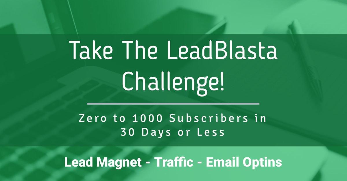 LeadBlasta Challenge